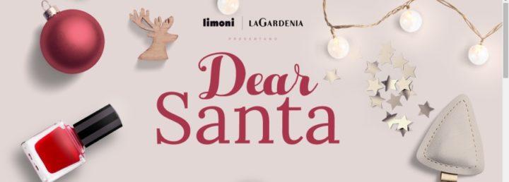Dear Santa concorso Limoni/La Gardenia: gift card da 100 euro in palio ogni giorno