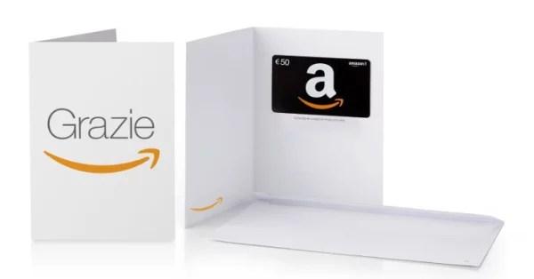 Buoni regalo Amazon 50 euro