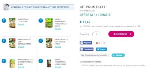 Kit Primi Piatti Knorr