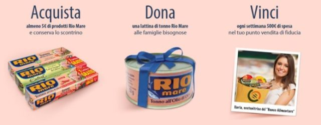 untonnopertutti concorso Rio Mare