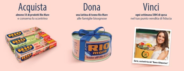 #UnTonnoPerTutti!: dona e vinci con Rio Mare