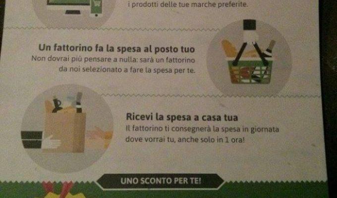 Supermercato24: la spesa direttamente a casa tua!