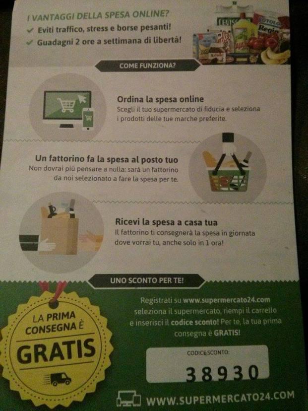 Supermercato24 Codice Sconto Spedizione Gratuita