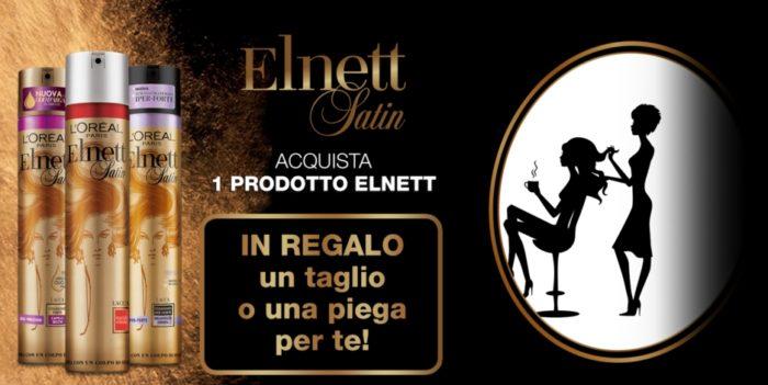Elnett Satin ti regala un taglio o una piega: premio sicuro!