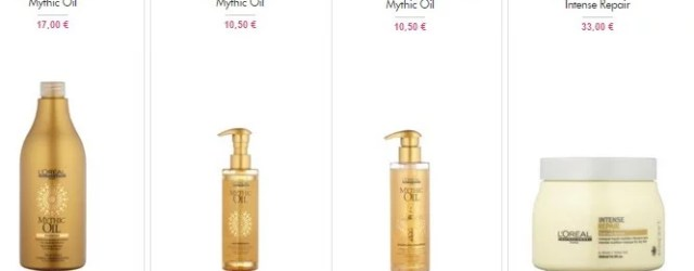Mythic Oil Vente Privee