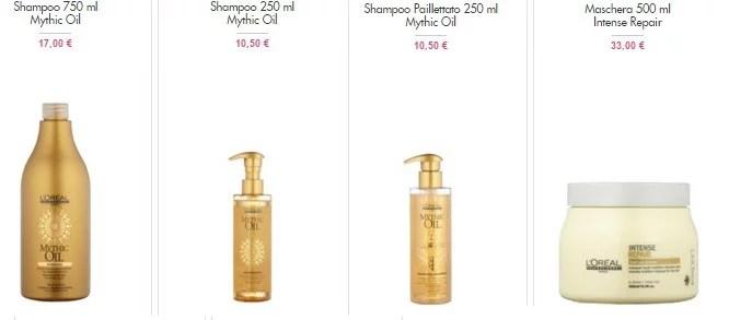 L'Oréal Professionnel Mythic Oil su Vente Privee: ottimi prezzi!