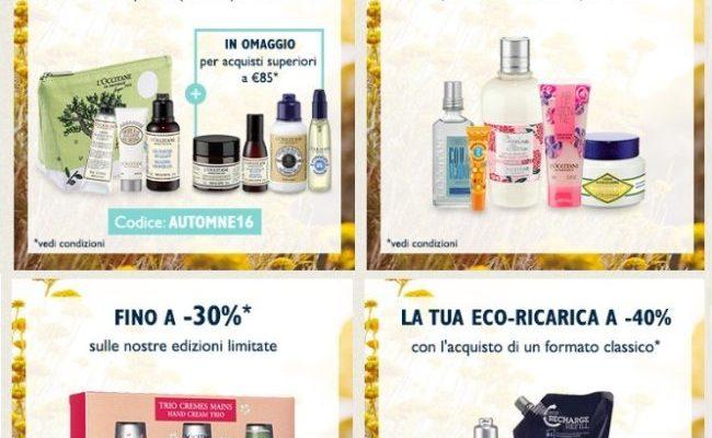Vendite Flash L'Occitane: prezzi mini scontati fino al 50%