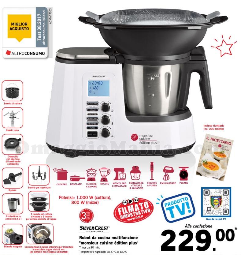 Monsieur Cuisine Plus (similbimby) A 229 Euro Omaggiomania