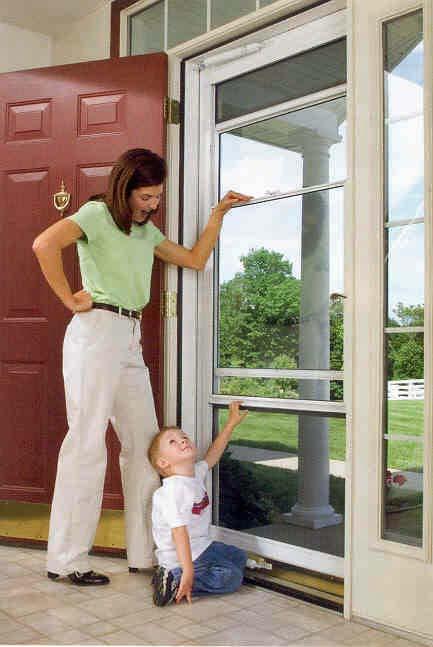 Image Result For Screen Door With Large Dog Door Built In