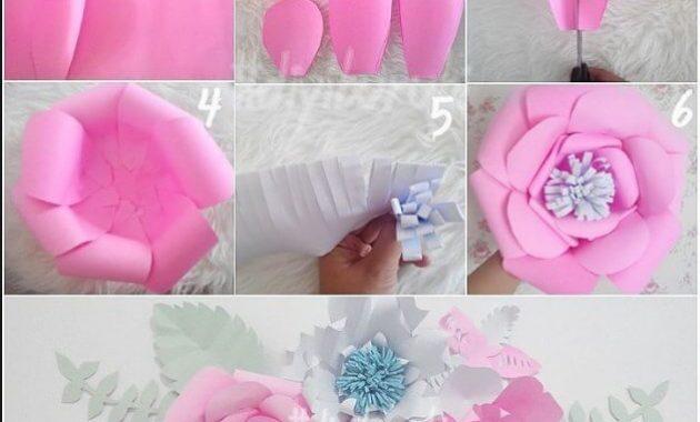 Cara Membuat Bunga Dari Kertas Beserta Gambarnya Lengkap