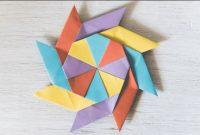 Cara Membuat Kerajinan Tangan Dari Kertas Origami