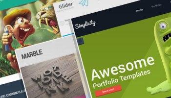 Joker - Free Single Page Portfolio HTML Template | OmahPSD
