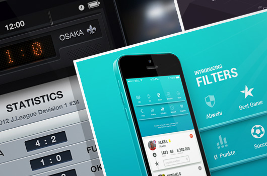 30 Awesome Football App Designs for Your Inspiration