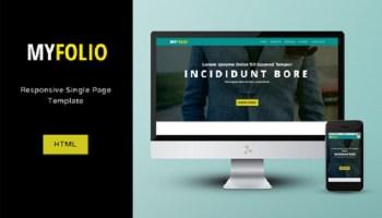 Free Responsive MyFolio HTML/CSS Template