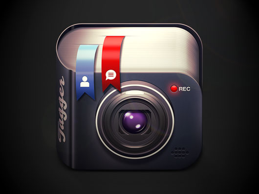 3D iOS App Icon Designs