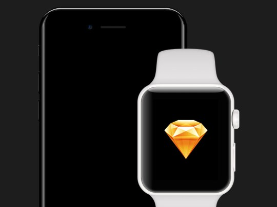 iPhone 7 & WATCH Series 2 for Sketch by Robbie Pearce