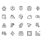 Icons For Web (AI, PSD)