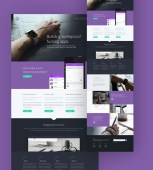 Tork Website PSD Template by Blazrobar