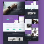 Tork – A Free PSD Website Template
