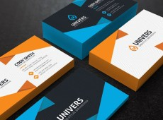 Free Alexa Business Card Template by iBrandStudio.com