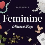 Feminine Minimal Logo Creator