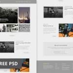 History Bits Magazine PSD Template