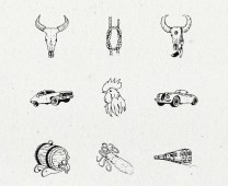 Illusion Hand-Drawn Collection by PixelBuddha