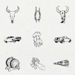 Illusion Hand-Drawn Collection (AI, EPS, PSD)