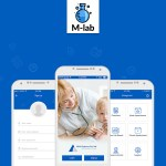 M-Lab Medical Mobile App Design