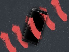 Samsung Note 7 Edge PSD Mockup by Gari Syka