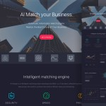Merger – Free Dark Landing Page (.Sketch)