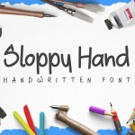Sloopy Hand Free Handwritten Font