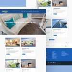 Real Estate Website Template (PSD)