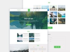 Free Travel Landing Page Template