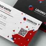Brick Business Card Template (3 Colors, PSD)