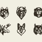 Savage Animals Vector Bundle