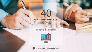 Free Business Analytic Icons