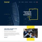 Counsel – Business Website PSD Template
