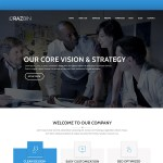 Razbin – Digital Agency Web Template (Free PSD)