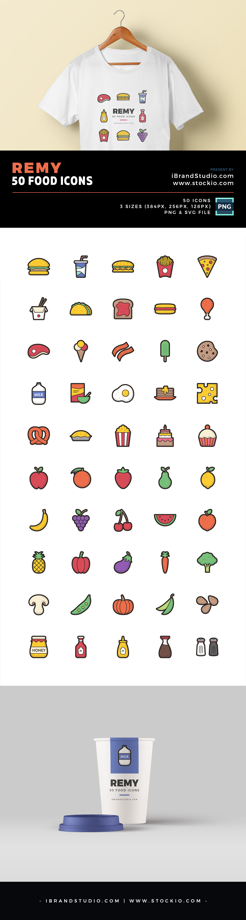 Free Remy Food Icon Set