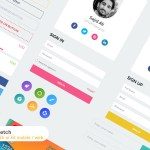 Mobile and Web UI Kit (Sketch)
