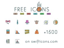 96x3 Free Icons from Swifticons