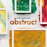 Abstract Acrylic Graphic Pack (PNG, AI, EPS, SVG).
