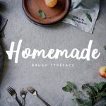 Homemade Brush Typeface