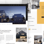 FinDeo – Free Real Estate Landing Page PSD Template
