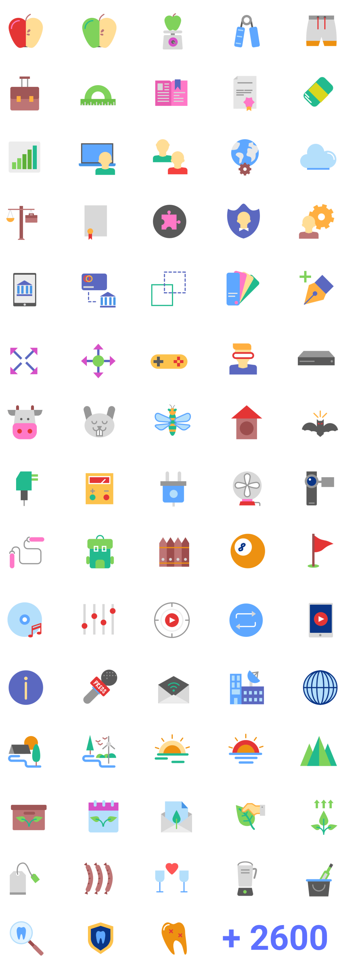 Magicons - Free 2687 Flat Icons