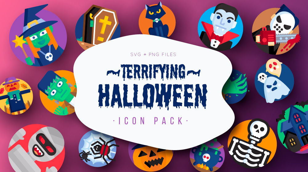 Free Halloween Icon Pack by Flaticon