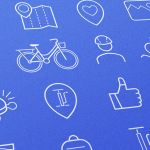 Free Bike Icons (2 Styles, AI & EPS)