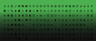 Material Icons Library Freebie