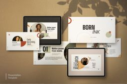 Born Ink - Free Presentation Template